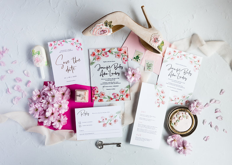 cherry blossom collection by Paper Swan.