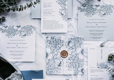 Enchanted Romance Wedding Stationery Suite