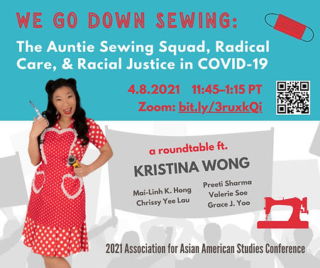 Auntie Sewing Squad @ AAAS 2021