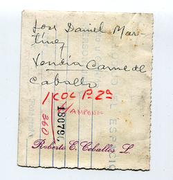 DANIEL VENDIA CARNE DE CABALLO