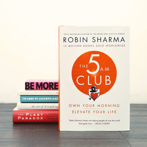 The 5AM Club:Own Your Morning. Elevate Your Life