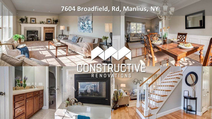 Another Great Renovation - Manlius, NY