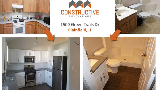 Before & After - Plainfield, IL