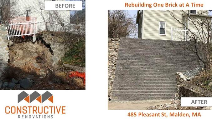 Rebuilding One Brick At A Time - Malden, MA