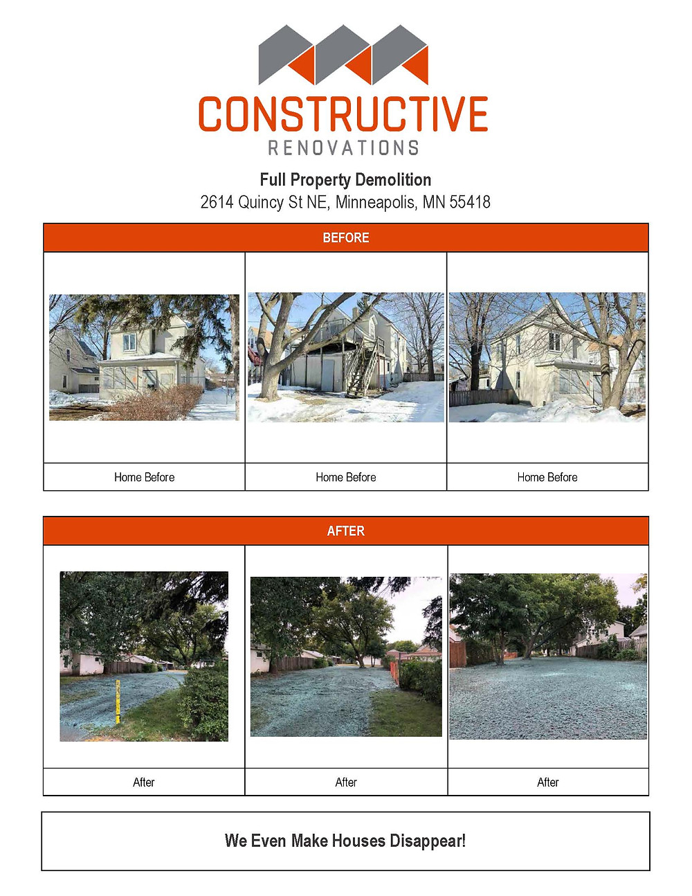 Full Property Demolition