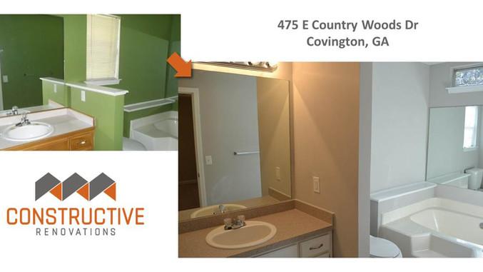 Before & After - Covington, GA