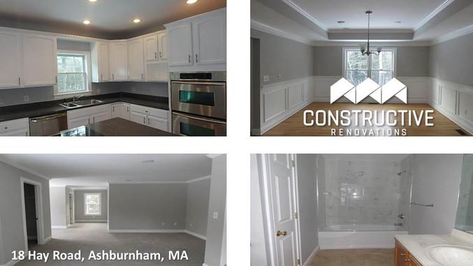 Successful Renovation - Ashburnham, MA