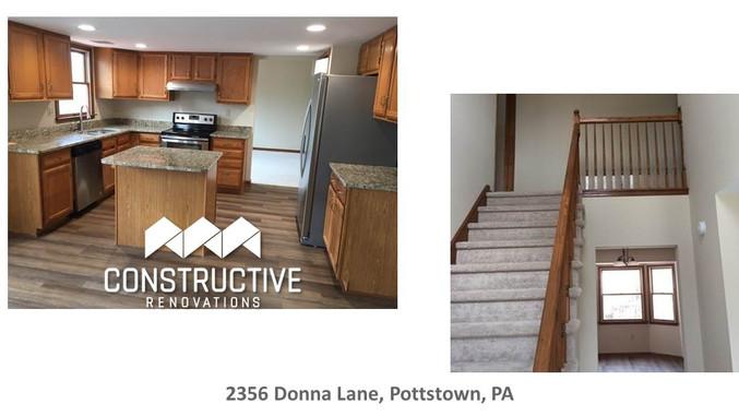 Successful Renovation - Pottstown, PA