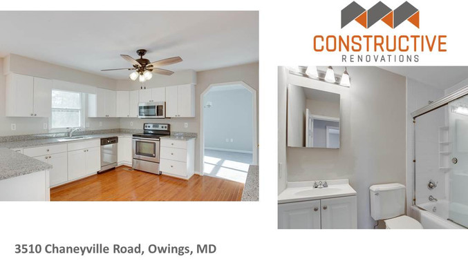 Completed Renovation - Owings, MD