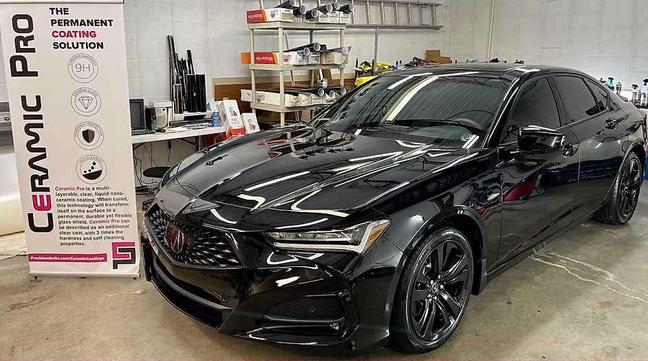 ceramic pro ceramic coating kansas city acura tlx