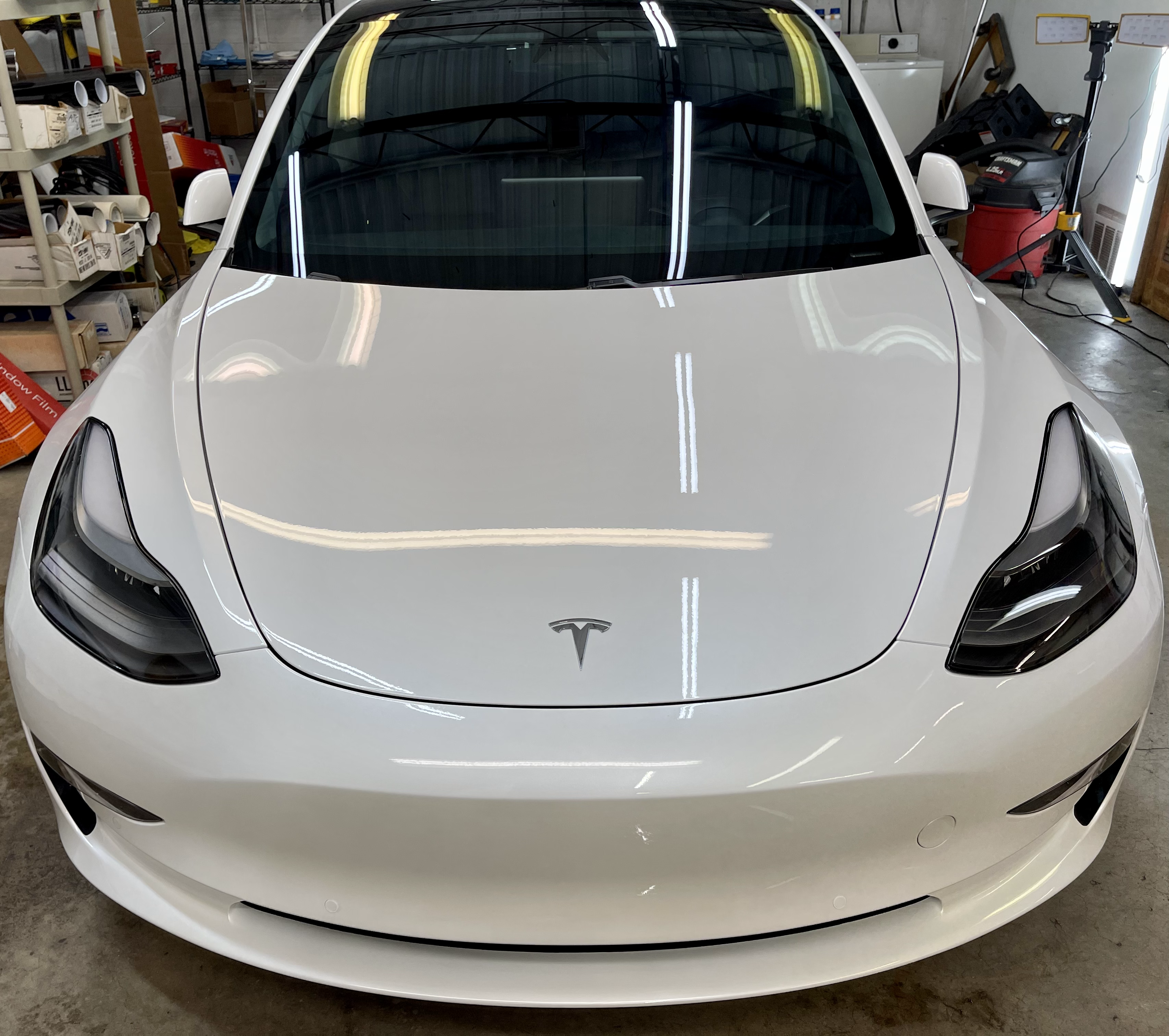 Tesla model 3 paint protection