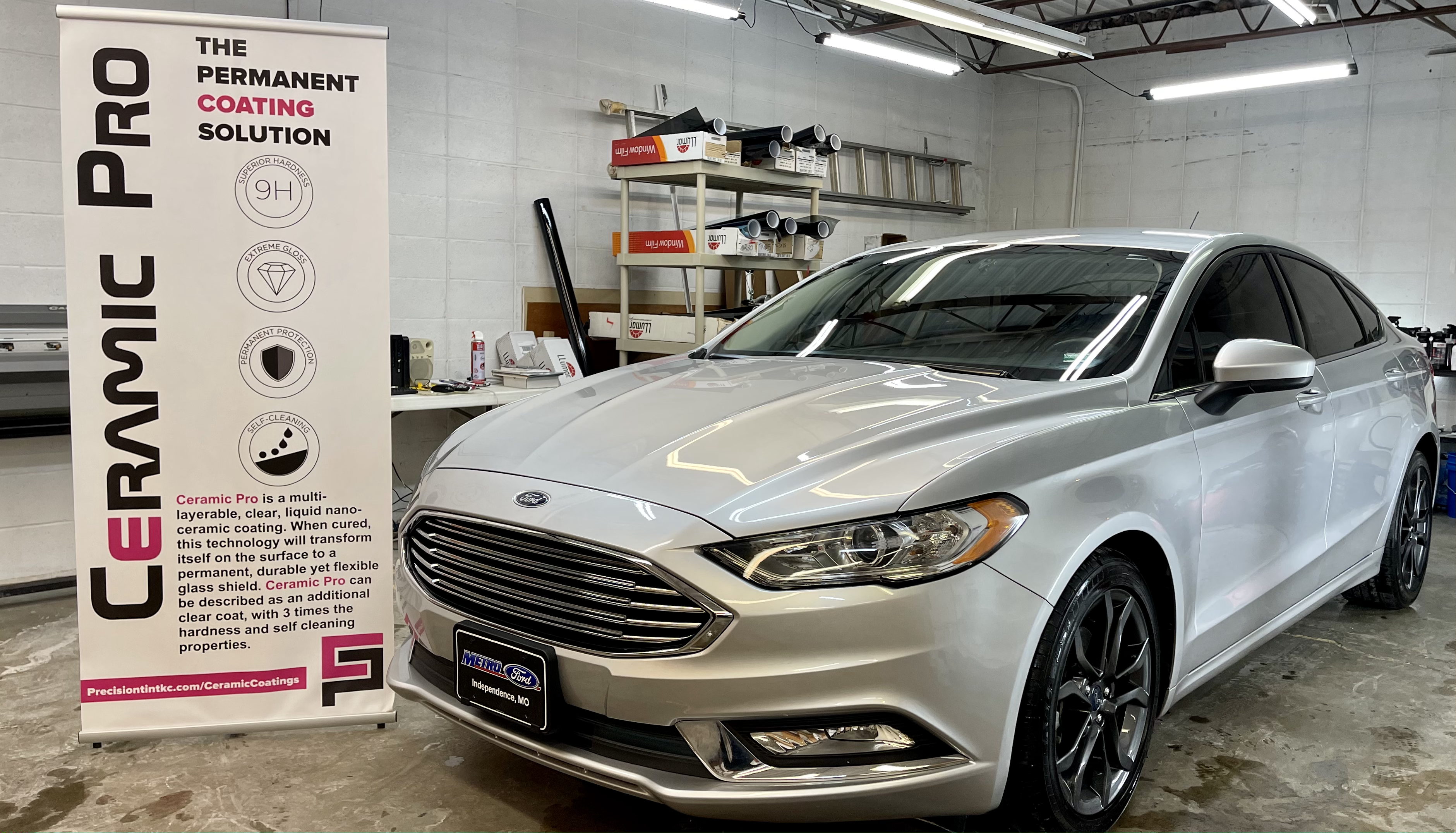 ceramic pro ceramic coating ford fusion