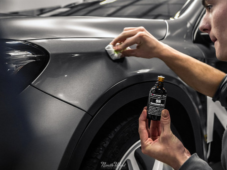 5 Benefits of Ceramic Paint Coating for Cars