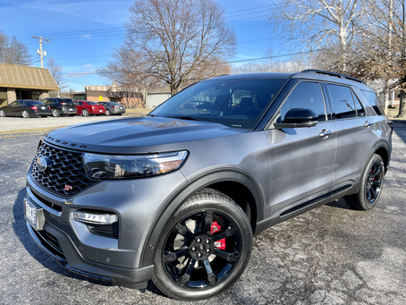Protecting a 2021 Ford Explorer ST for LIFE with paint protection film and Ceramic Coating