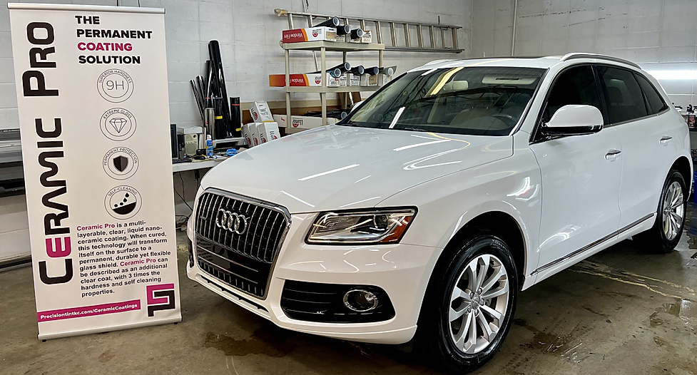 ceramic pro coatings ceramic coatings kansas city audi q5