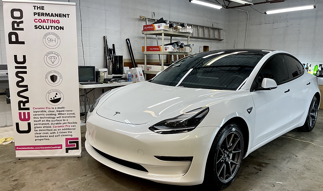 tesla model 3 ceramic pro ceramic coating