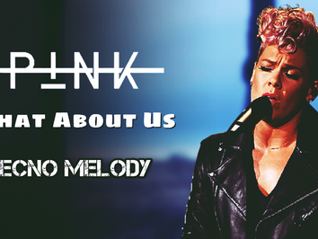 P!NK - What About Us | Versão Tecno Melody | By. LUMIX Remix