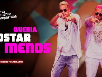 MC G15 e DJ GBR - Queria Gostar Menos | Versão Piseiro | By. DJ Wagner Araújo Remix