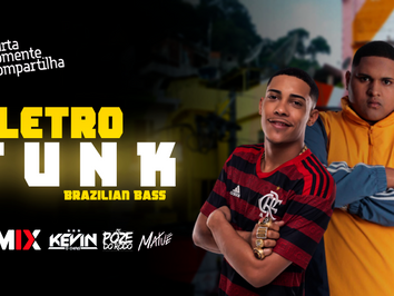 MEGA ELETROFUNK #009   Brazilian Bass   Kevin O Chris, MC Poze do Rodo, Matuê   Remix 2021