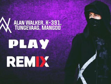 Alan Walker, K-391, Tungevaag, Mangoo - PLAY   Musica Eletrônica   By. Tedexon Remix