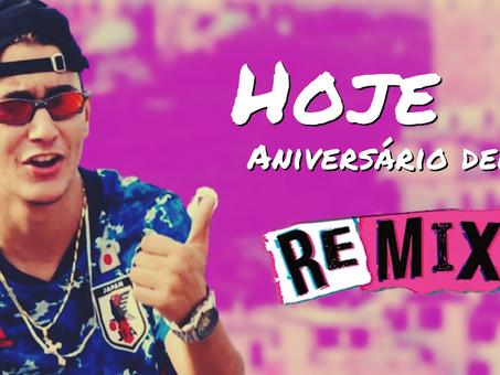 MC Jacaré - Hoje é Aniversário Dela   Eletro Funk   By. DJ Cleber Mix Remix