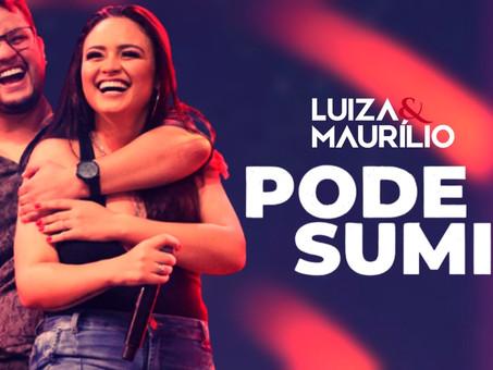 Luiza e Maurílio - PODE SUMIR   Funk Remix   By. DJ BLEBYT