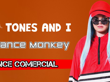 Tones and I - Dance Monkey | Dance Comercial | By. Alonso Britto [Remix]