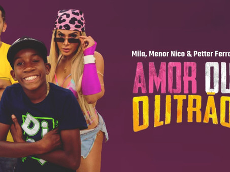 Mila, Menor Nico & Petter Ferraz - Amor Ou O Litrão   Remix Eletrônica   By. FRANCCZ & KOF