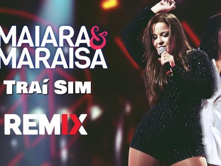 Maiara e Maraísa - Traí Sim | Versão Reggae | By. RC Mix Remix