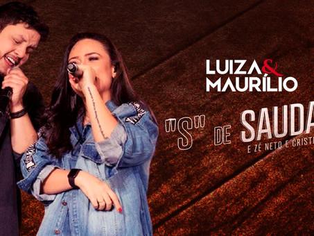 """Luiza e Maurílio - """"S"""" de Saudade Part. Zé Neto e Cristiano   Sertanejo Remix  By. DJ Paiva"""
