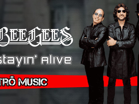 Bee Gees - Stayin' Alive | Retrô Music Remix | By. Benny Davids