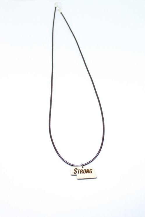 Nebraska Strong Necklace
