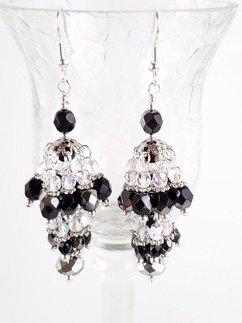 Double Chandelier earrings