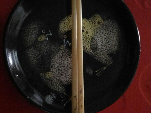 Elephant Tusk Chopsticks (Daniel Yu)
