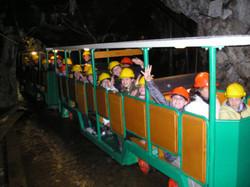 Gruppo in miniera