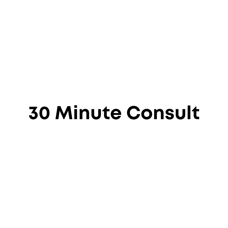 30 Minute Consult