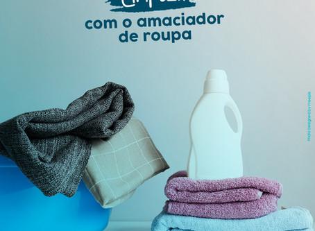 Dicas de limpeza com amaciador de roupas