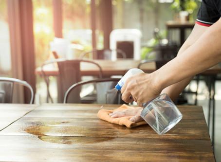 A boa limpeza do ambiente traz saúde e bem-estar