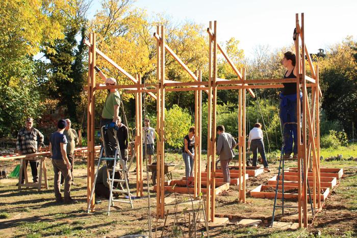 Atelier de construction bois