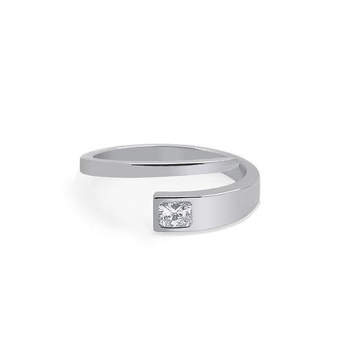 Buttercup Ring - White Gold Rad