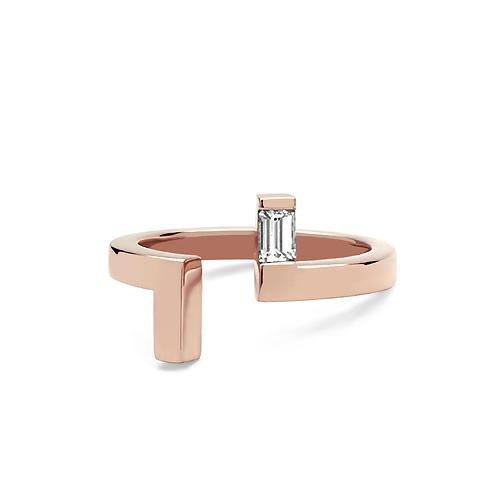 Lily Ring - Rose (Pink) Gold EM