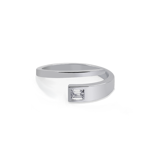 Buttercup Ring - White Gold EM