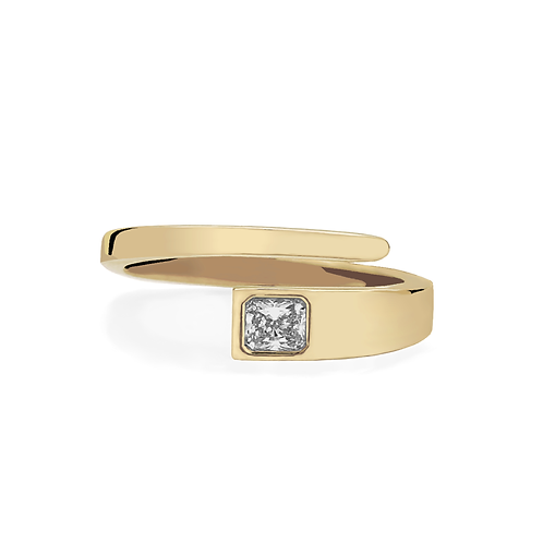 Buttercup Ring - Yellow Gold Rad