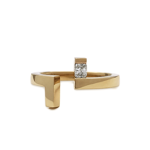 Lily Ring - Yellow Gold Rad