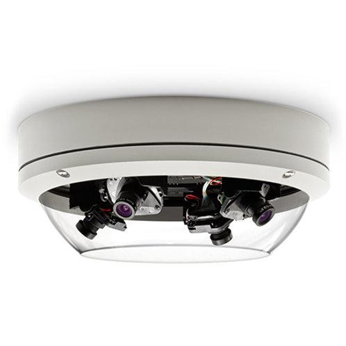 Cámara IP panorámica con lentes orientables