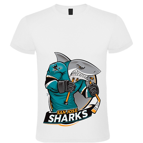 CAMISETA SAN JOSE SHARKS