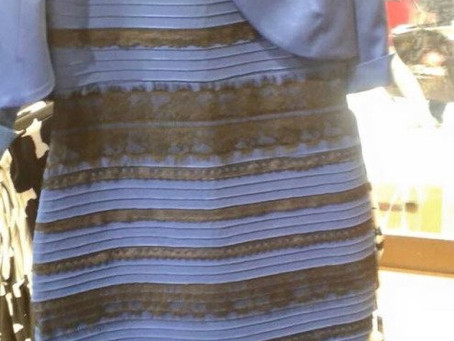 Is the Dress Black and Blue?