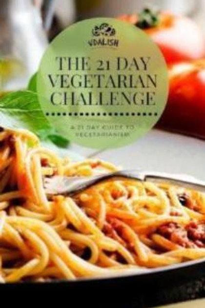 21 Day Vegetarian Challenge E-book