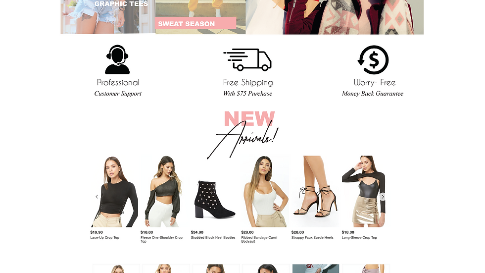 Pink Boutique Template
