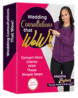 Wedding Consultations that box 4RE NO PR